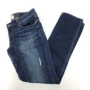 PAIGE Denim Jimmy Jimmy Skinny Jeans Mid Rise Blue